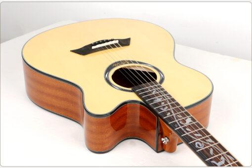 Deviser L-720B (Fretwork) Pure Acoustic Guitar 5